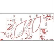 (底盤 引擎專賣)HONDA 本田 FIT 09年 車身防水橡皮 車身橡皮 海綿 防水條 正廠件