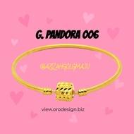 💍💍 100% Emas 916 💎💎 Gelang 💍💎 PANDORA 916 💎💍 emas 916 💎💎 Orodesign 100% emas 916 💍💍