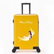 Datuกระเป๋าเดินทางสำหรับเด็กชายกระเป๋าการ์ตูนน่ารักหญิง20นิ้วกระเป๋าเดินทางล้อสากล19-นิ้ว24