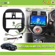 "Android Player Casing 9"" Nissan Almera 2012-2015"