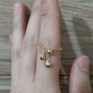 70% Gold Shell Ring 1.00 Gram
