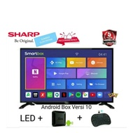 SHARP 42 SMART TV ANDROID BOX