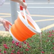折疊可攜式伸縮水桶旅行戶外釣魚洗車塑膠臉盆學生家用大號儲水桶『S339』