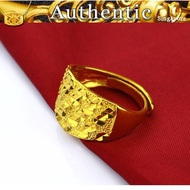 Pure 916gold pierced starry couple ring 916 916gold ring