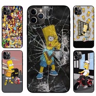IPhone12 Pro Max 12mini  12 / 12 Pro Cool Simpson Casing Soft Case Cover