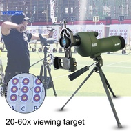 WIN  Portable Bird Watching Telescope 20x-60x Water Resistant Spotting Scope with Tripod for Hunting
