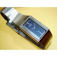星辰CITIZEN CQ系列時尚淑女款方形指針腕錶/金屬石英手表
