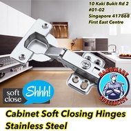 Stainless Steel Full Overlay Cabinet Soft Closing Hinge