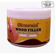 Wood Filler Teak Water Based Biovarnish Wood Putty 700gr