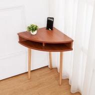 【BODEN】三角造型邊几/牆角小茶几/邊桌-手機擴音功能-DIY