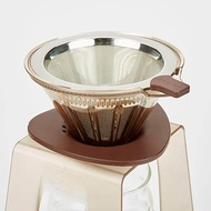 Dolity Pour Over Coffee Dripper Stand Drip Station Cone Dripper Stand Coffee Tools