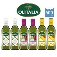 【Olitalia奧利塔】特級橄欖油+葡萄籽油+葵花油(500mlX6瓶)經典料理組