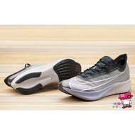 NIKE ZOOM FLY 3 黑紫銀 透明 襪套 慢跑鞋 男 全碼 馬拉松 4% AT8240-001
