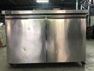 達慶餐飲設備八里二手倉庫 二手設備  4尺冷藏工作台冰箱