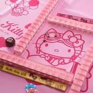 41+ 現貨不必等 機場限定 Hello Kitty 麻將水晶麻將 2018 限量款 環遊世界粉色壓花外盒 4165本通
