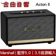 Marshall Acton II 2代 黑色 藍芽喇叭 | 金曲音響
