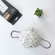 STYLEi 史戴利 - 四層橋型成人醫療立體口罩-KF94幾何系列-網狀-5入/盒