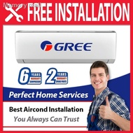 ✁Gree 1HP, 1.5HP and 2HP Aircond, FOC Professional Installation in Covered Area