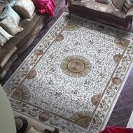 好市多 歐式古堡莊園 高密度埃及進口地毯 240x340公分 -羅浮宮米