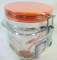 【八八八】e網購~【愛的密封罐1000CC】381367 透明筒 糖果罐餅乾罐 保鮮罐 防潮 防螞蟻