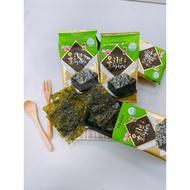 [吃吃的愛]蝦皮最低價 韓國 廣川 李班長傳統海苔 4g ㄧ袋12入 原味 李班長 韓式海苔 韓國海苔
