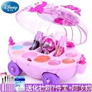 現貨迪士尼兒童無毒化妝品公主彩妝無毒套裝冰雪化妝車玩具過家家禮物