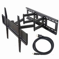 VideoSecu Dual Arm TV Wall Mount Bracket for Sony Bravia 32, 37, 40, 42, 46, 50, 52, 55,58,60,62,...
