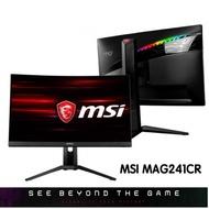 MSI 微星 MAG241CR 144Hz/1Ms/24吋/FHD 電競螢幕 曲面