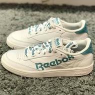 Reebok club c 85 灰白藍 女款 復古運動鞋 dv3832[Q1現貨]