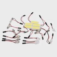 ใหม่3W COB 18 LED แผง T10 Ba9s Festoon Dome Adapter W5w C5w หลอดไฟ Led ภายในไฟที่จอดรถ12V 020ร้อน