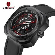 Kademan kademan men's leisure watch rectangular dial belt quartz watch manufacturer wholesale watch 663