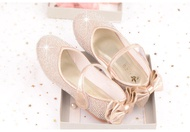 Shoe1425- รองเท้าคัชชูเด็กเล็ก รองเท้าคัชชูเด็กโต ติดเพขร (ความยาววัดจากพื้นภายใน ให้ใช้ความยาวเท้า +0.5/เท้าอูม +1.0 cm.แล้วแลือก)