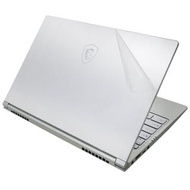 【Ezstick】MSI PS42 8RB 二代透氣機身保護貼(含上蓋貼、鍵盤週圍貼、底部貼)