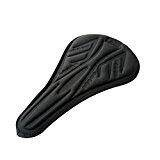 Redcolourful  3D Silicone Gel Saddle Cushion Outdoor Bicycle Soft Cover/Protector