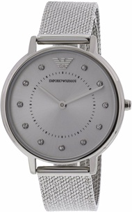 Emporio Armani Women's AR11128 Silver Stainless-Steel Japanese Quartz Dress Watch