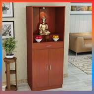 Buddhist altar stand cabinet with door for table modern minimalist Fortuna cabinet for Taishen table