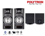 POLYTRON Speaker Aktif PAS 8E12 [Bluetooth,USB]
