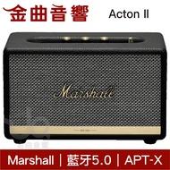 Marshall Acton II 2代 無線藍芽喇叭 音響  黑色| 金曲音響