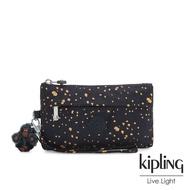 Kipling 燦爛潑墨星光手拿配件包-NIYLAH