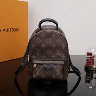 ขายร้อน Original Louied Vuittonness กระเป๋าผู้หญิงคลาสสิก Monogram กระเป๋านักเรียน Lv-กระเป๋าเดินทางสตรีปาล์มสปริงส์กระเป๋าสะพายขนาดเล็ก M44873