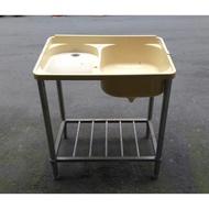 二手洗衣槽 塑料洗衣台 ABS不鏽鋼洗衣水槽 銹鋼洗衣水槽 組裝式洗衣槽 洗手槽 洗衣台 衛浴配件