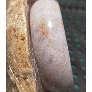 (紫冰雪花)珊瑚玉手鐲18圍