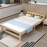 折疊床單人床成人家用簡易床雙人午休床午睡板式床辦公室實木小床DF 母親節禮物