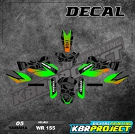 ( COD ) WR 155 decal sticker motor YAMAHA WR 155 IP.05 decal stiker full body variasi racing bisa custom
