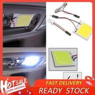 EMH®1Pcสีขาว48 LED SMD COB T10 4W 12Vแผงตกแต่งภายในรถยนต์Lightโคมไฟทรงโดมหลอดไฟ