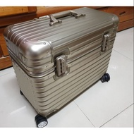 鋁鎂合金登機箱 機長箱 21吋 金色 四輪 可上機 類RIMOWA款