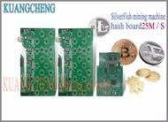 KUANGCHENG MINING จัดส่งฟรี SilverFish hash board 25M Litecoin Miner Scrypt Miner 420w ดีกว่า ASIC miner zeus 25M L