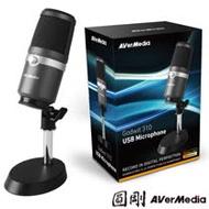 圓剛 AM310 黑鳩 高音質USB麥克風 直播.演唱專用