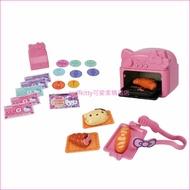 asdfkitty可愛家☆KITTY麵包店附造型烤箱兒童玩具-扮家家酒-日本正版商品