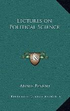 Lectures on Political Science